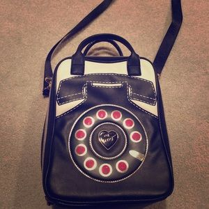 Betsey Johnson Telephone Lunchbox